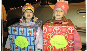 Christmas Parade – Girl Scout Present Style