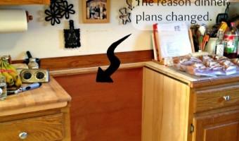 When Appliances Aren't Delivered … Dinner Plans Change!