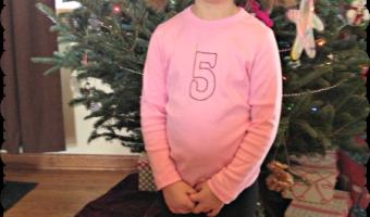 Happy 5th Birthday, Sophie!