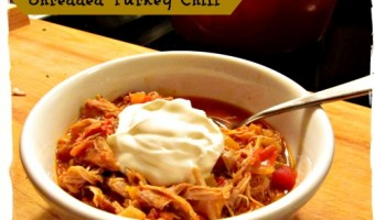Shredded Turkey Chili with Del Monte Petite Cut Diced Tomatoes