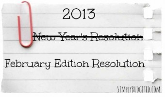 New Year's Resolutions – The February Edition