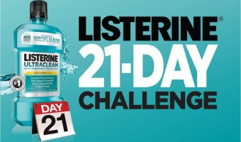 Listerine 21-Day Challenge:  Mission Completed