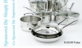 Spring in the Kitchen: Cuisinart Stainless Steel Set Giveaway