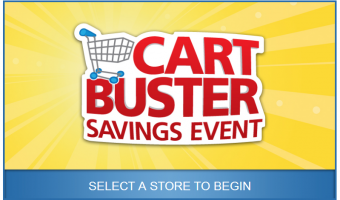 Kroger's Cart Buster Savings Event and Select Your Deal