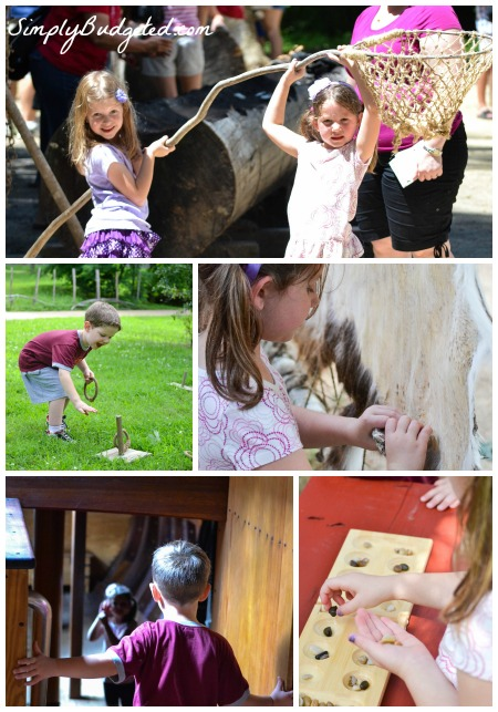 Kids at Jamestown