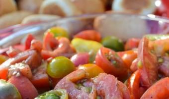 Tomato Salad:  A Fresh Taste of Summer