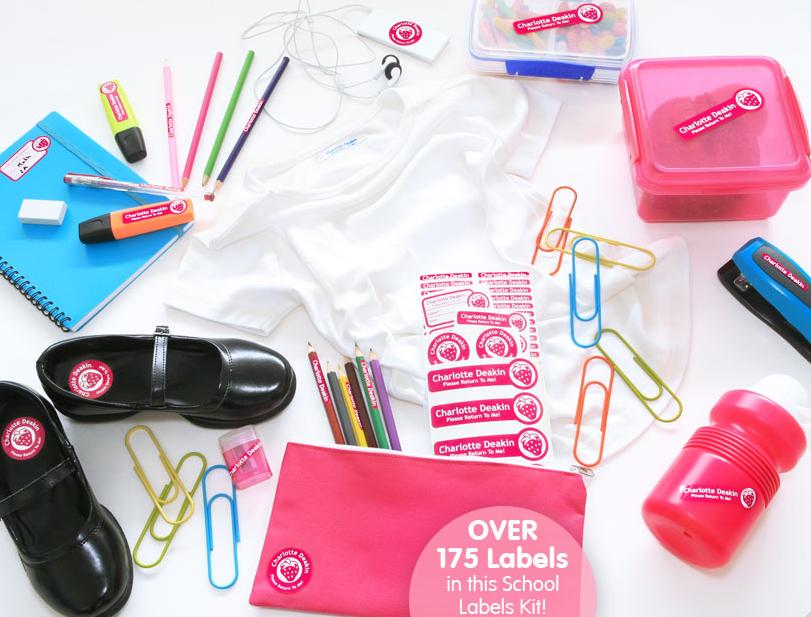 Bright Star Kids Label Kit