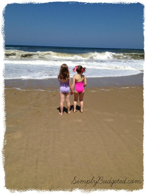 Sisters at Outer Banks, NC - July 2013