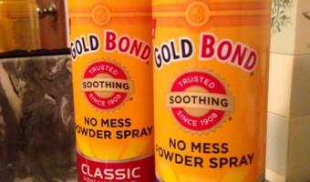 Staying Fresh with Gold Bond No Mess Powder Spray