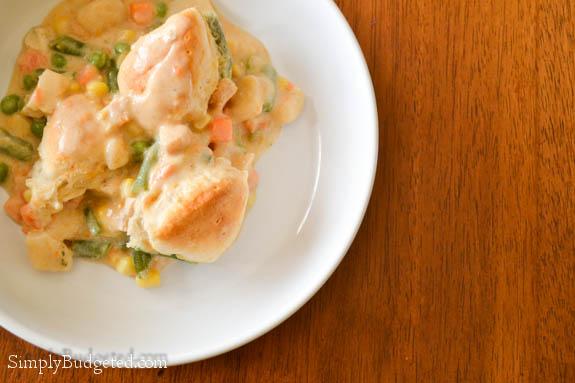 Pillsbury Chicken Pot Pie-3
