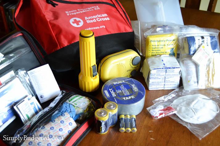 Red Cross Basic Emergency Preparedness Kit