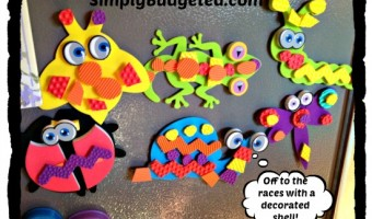 Craft Time with text-UR Foam Product Kits