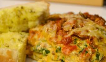 Adding Veggies to Lasagna