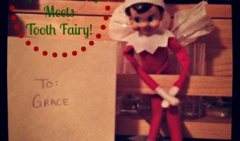Elf on the Shelf: Day 20 Elf Meets Tooth Fairy