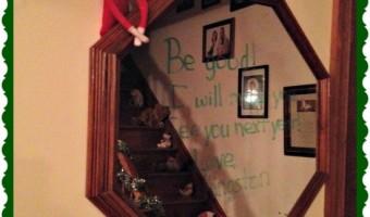 Elf on the Shelf: Day 22 Goodbye Kingston
