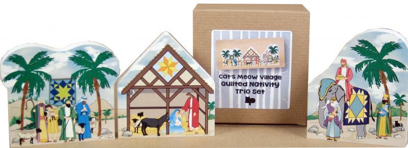 nativity trio set