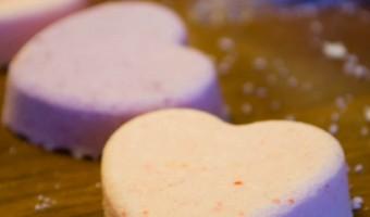 Valentine's Bath Fizzies