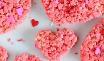 Heart Rice Krispies Treats