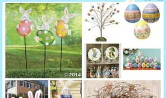 Easter Decorations Roundup