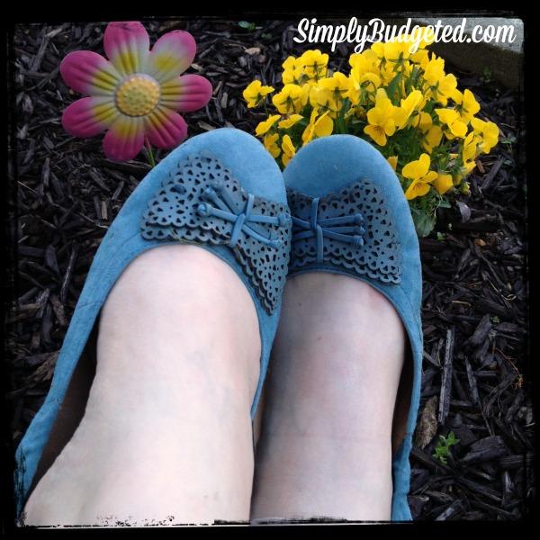 earth footwear wearing butterfly shoes