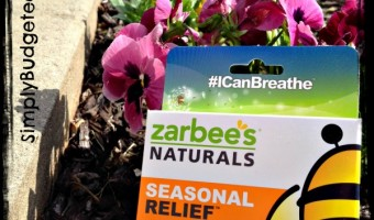 Conquering Springtime with Zarbee's Naturals