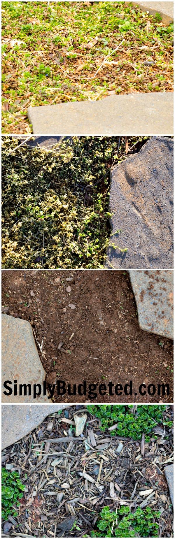 Rock Stones Progress Collage