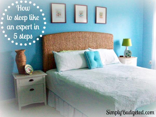 how to sleep like an expert in 5 steps