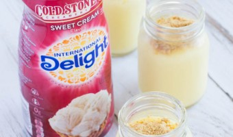 Beachy Vacation Pudding with International Delight