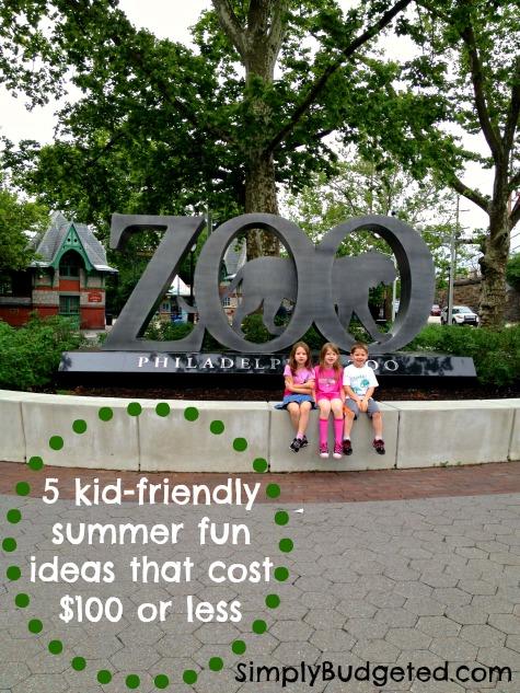 kid-friendly summer fun under $100