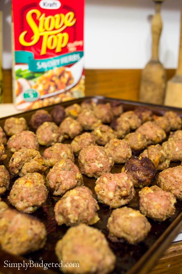 Turkey Stuffing Meatballs-3