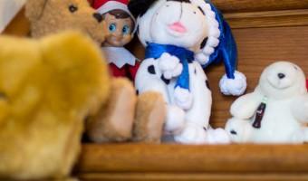 Elf on the Shelf: Day 4 New Friends