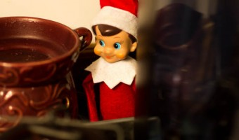 Elf on the Shelf: Day 19 Coffee Break