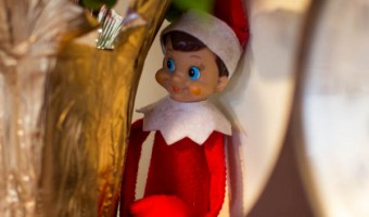 Elf on the Shelf: Day 21 Trying to Hide