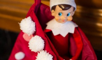 Elf on the Shelf: Day 23 Saying Good-bye