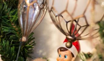 Elf on the Shelf: Day 11 Taking It Easy