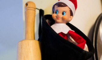 Elf on the Shelf: Day 17 More Baking around here