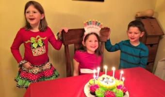 Elf on the Shelf: Day 10 Birthday Celebration