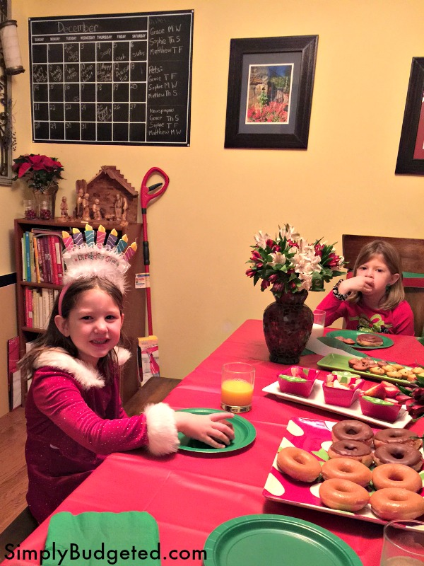 sophie-birthday-elf-breakfast