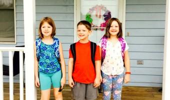 School started … a week ago.