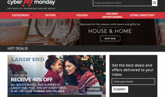 Your Go To Deal Site – CyberMonday.com