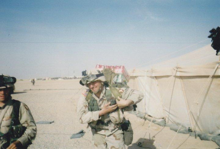 Brian M in Iraq