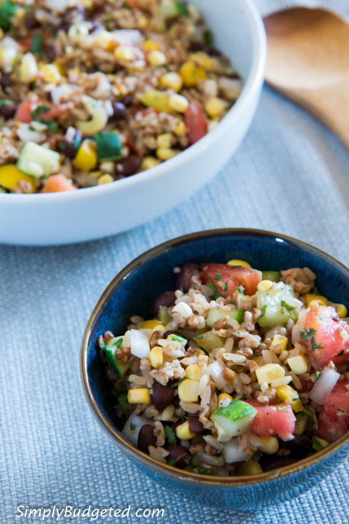 Confetti Rice and Bean Salad-5